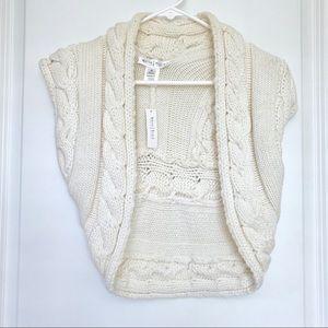 NWT White House Black Market Sweater Vest